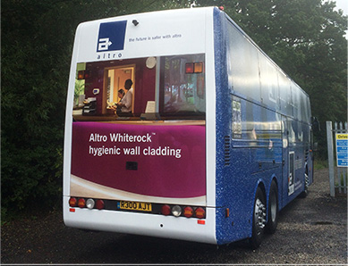 Altro Bus Marketing Campaign Feature