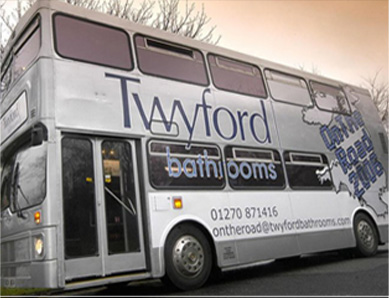 Twyford Bathrooms Bus Marketing Campaign Feature