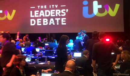 ITV Leaders Debate Event Support