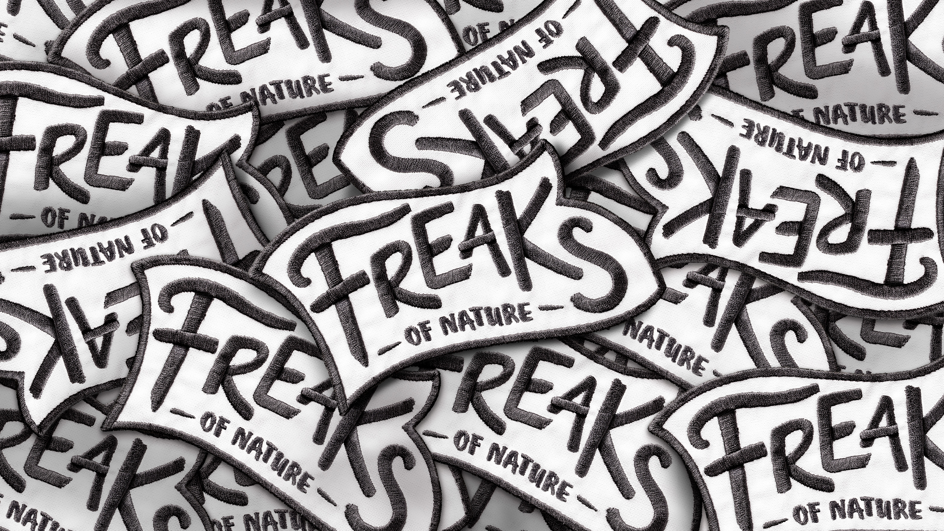 Freaks of Nature Logo Patches