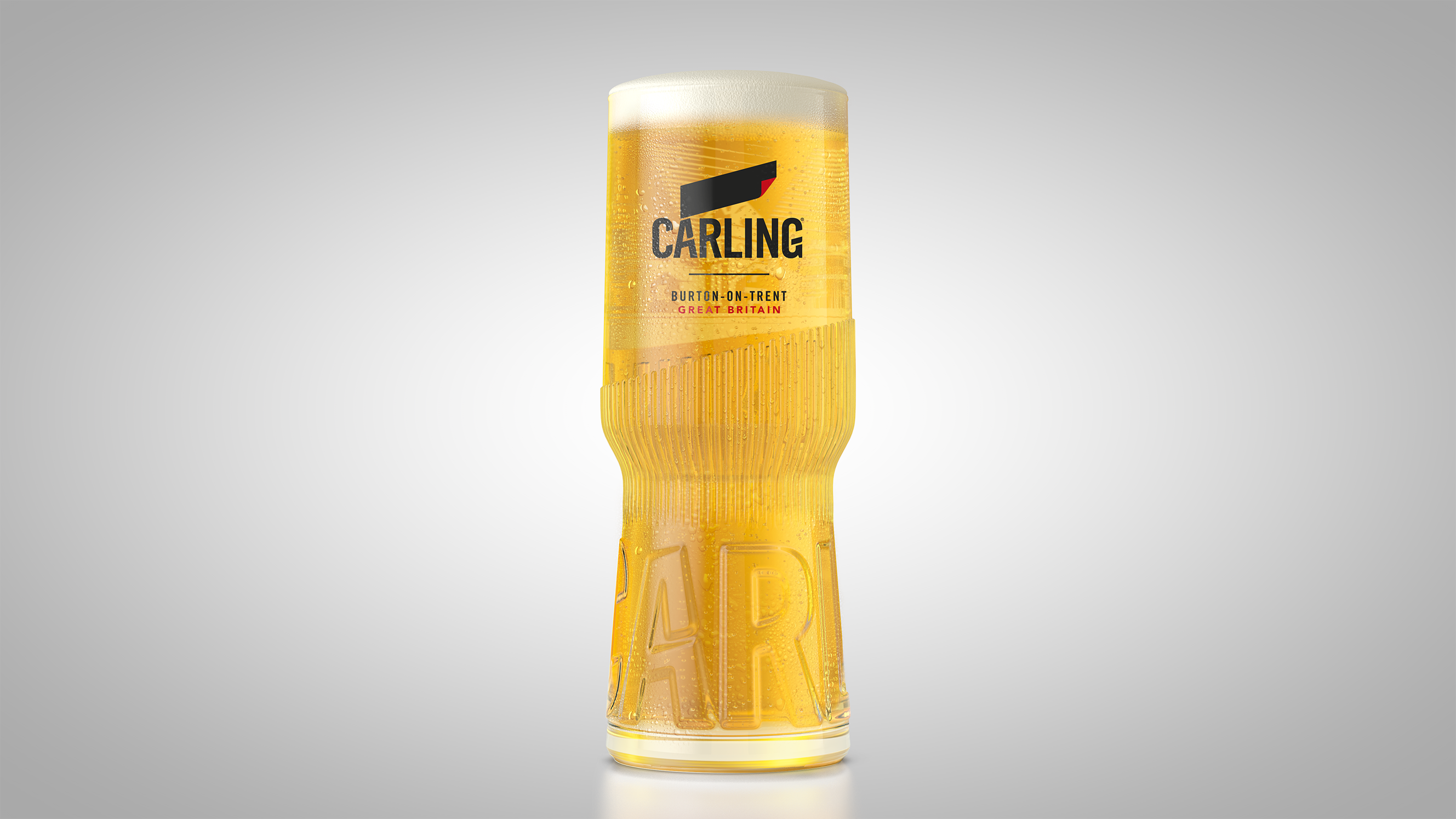 carling glass single