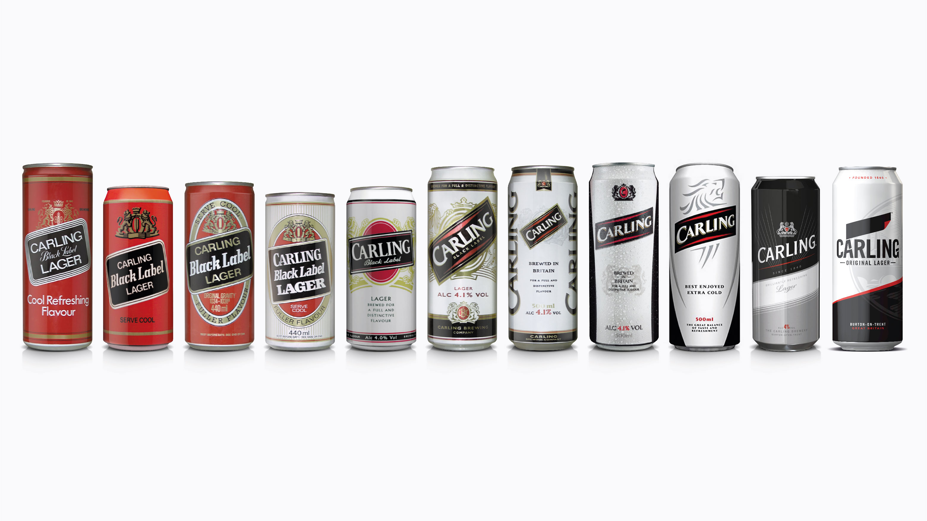can history including new can CARLING