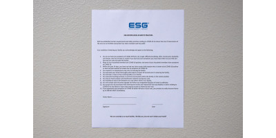 Visitor Safety Questionnaire