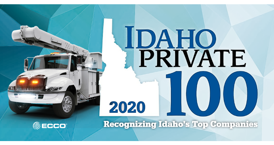 ECCO Rises in the Ranks: Idaho's Top Private Companies in 2020 Revealed