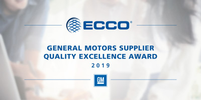 GM RECOGNIZES ECCO FOR FLAWLESS PERFORMANCE IN 2019