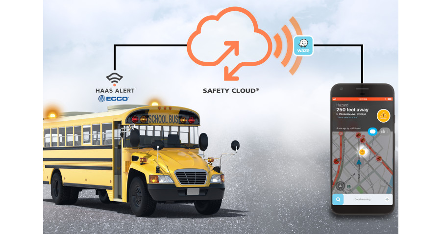 "ECCO and HAAS Alert Introduce ""Connected Safety"" to Commercial Vehicle Market"