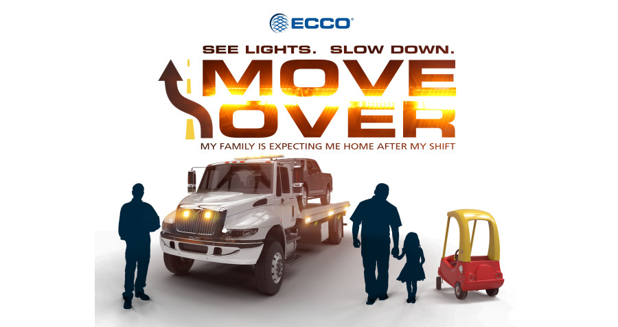"ECCO Kick-Starts New ""See Lights. Slow Down. Move Over."" Campaign"