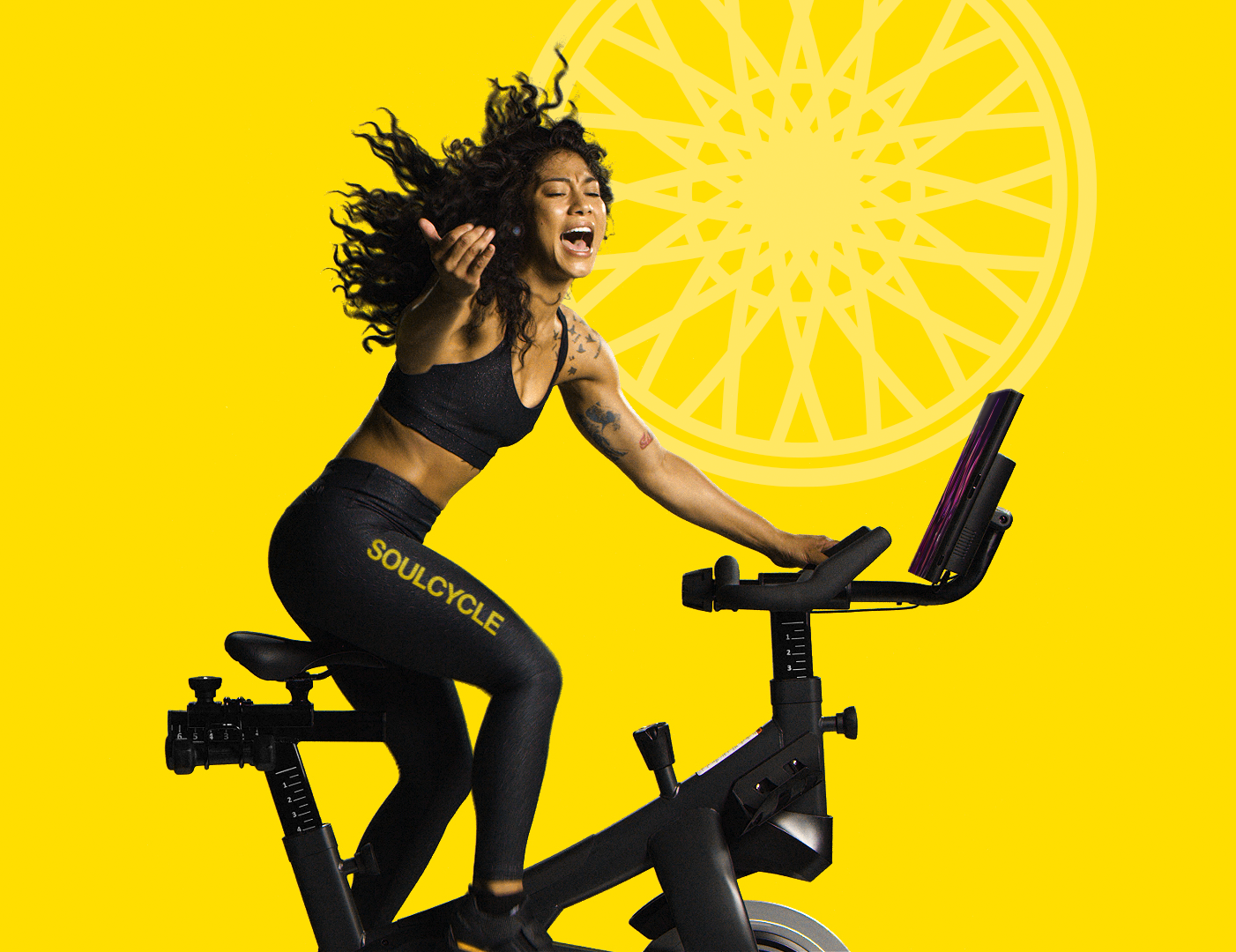 Animating SoulCycle Rider