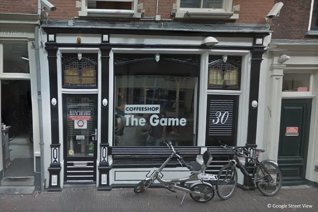 Coffeeshop The Game blijft open