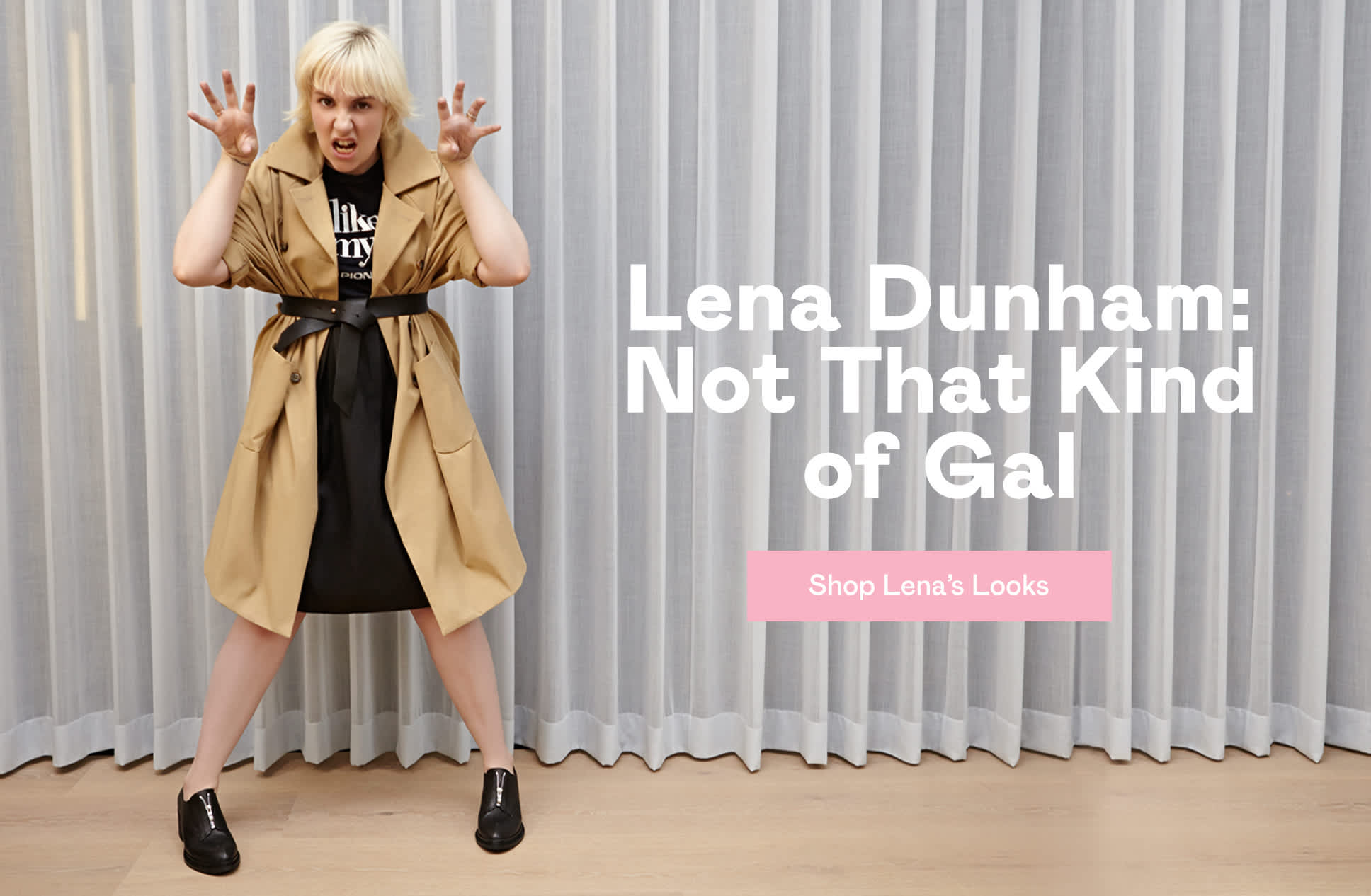 Lena Dunham is a Nasty Gal