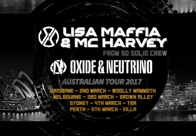 Oxide & Neutrino + Lisa Maffia & MC Harvey