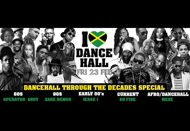 I love Dancehall - Dancehall Through The Decades Special