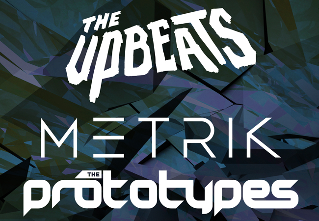 Twisted Audio presents The Upbeats, Metrik & The Prototypes
