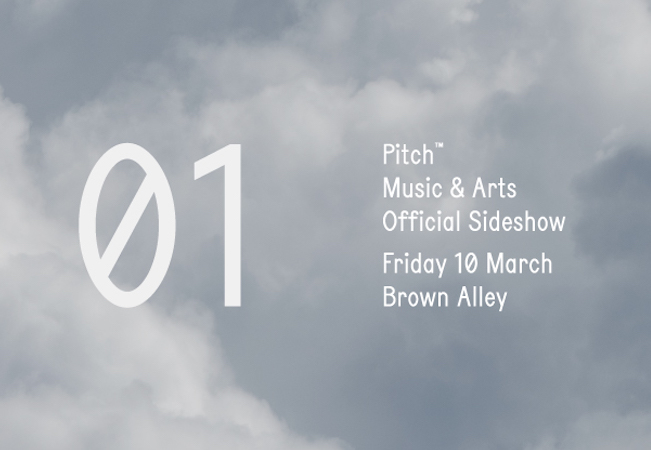 Pitch Sideshow 01 with Francesca Lombardo / Nathan Fake / Octave One (Live) / Kollektiv Turmstrasse