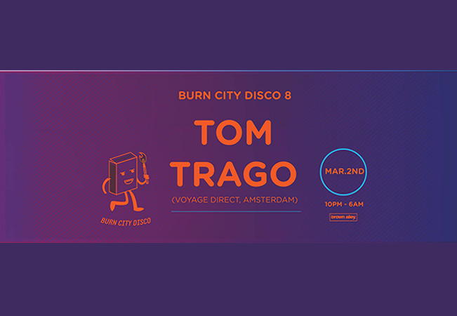 Burn City Disco Eight - Tom Trago (Voyage Direct)