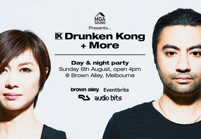 Drunken Kong Album Launch Party