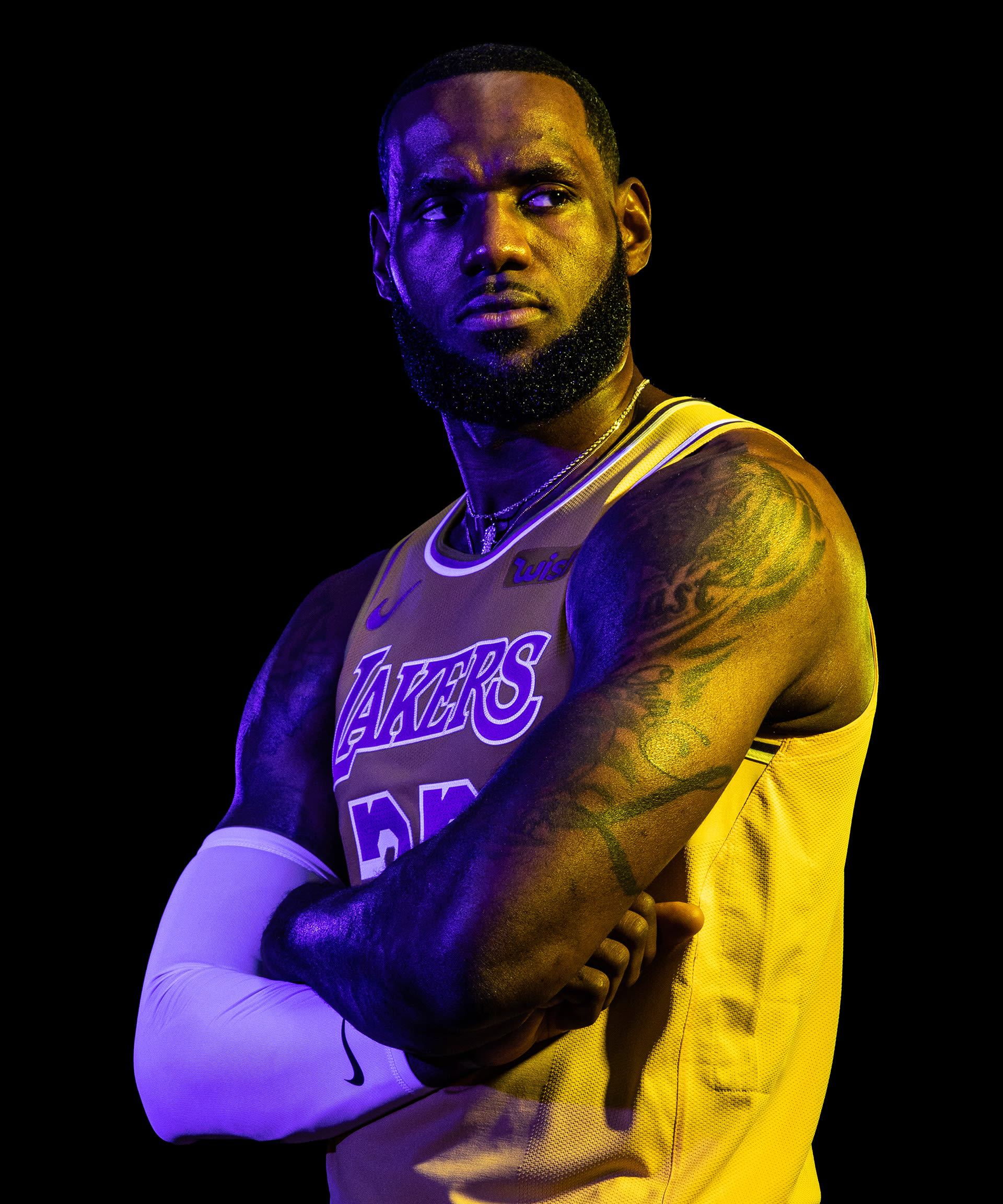 Lebron James The Official Site Of The Los Angeles Lakers