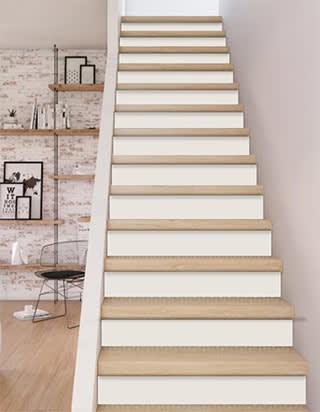 Projet rénovation escalier marches :