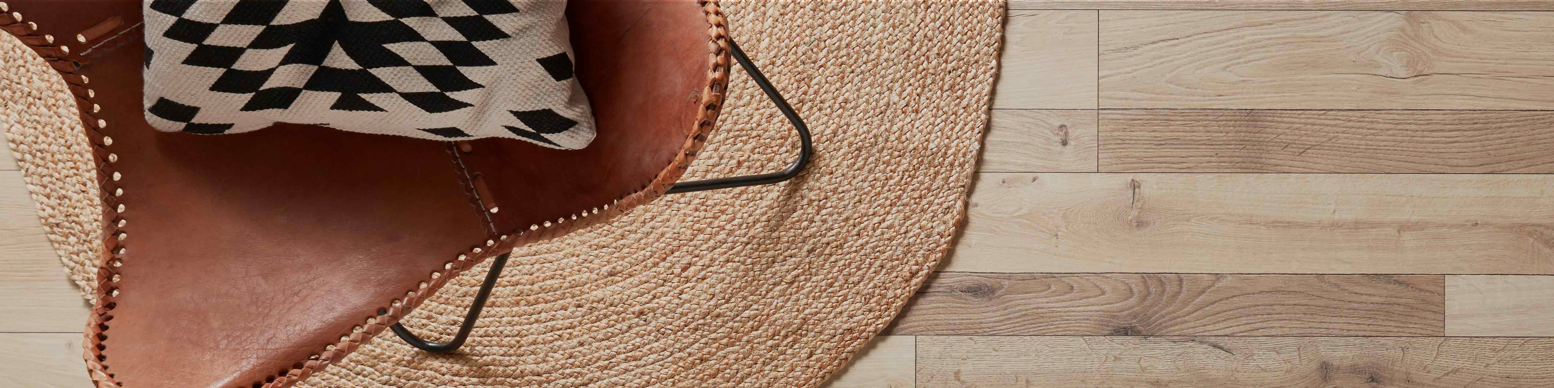 Stratifié aspect bois marron