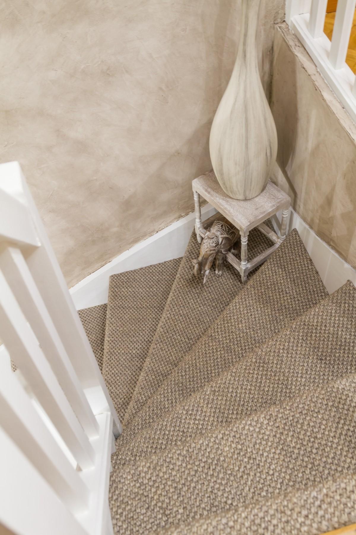 Escalier En Jonc De Mer