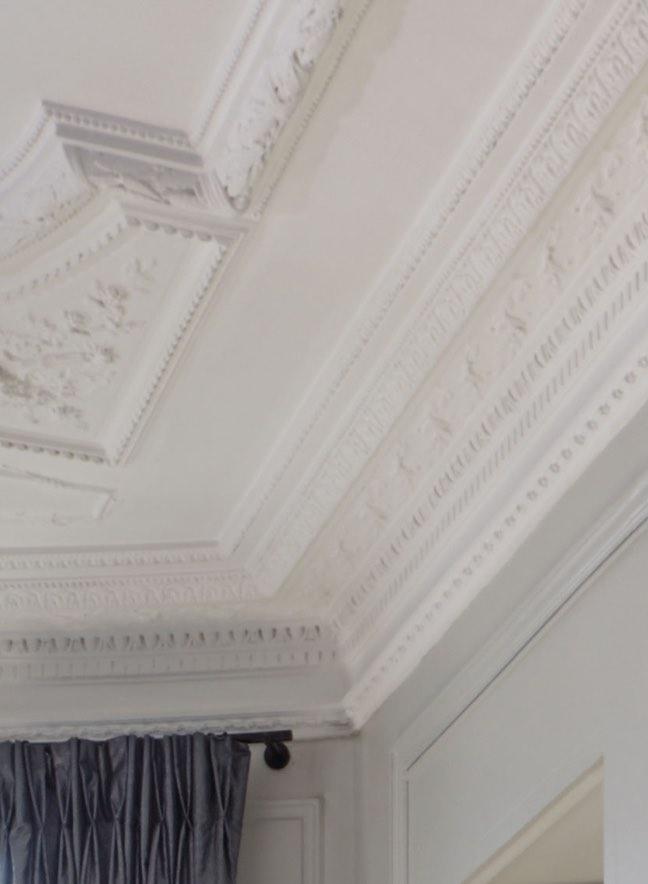 Plafond taché