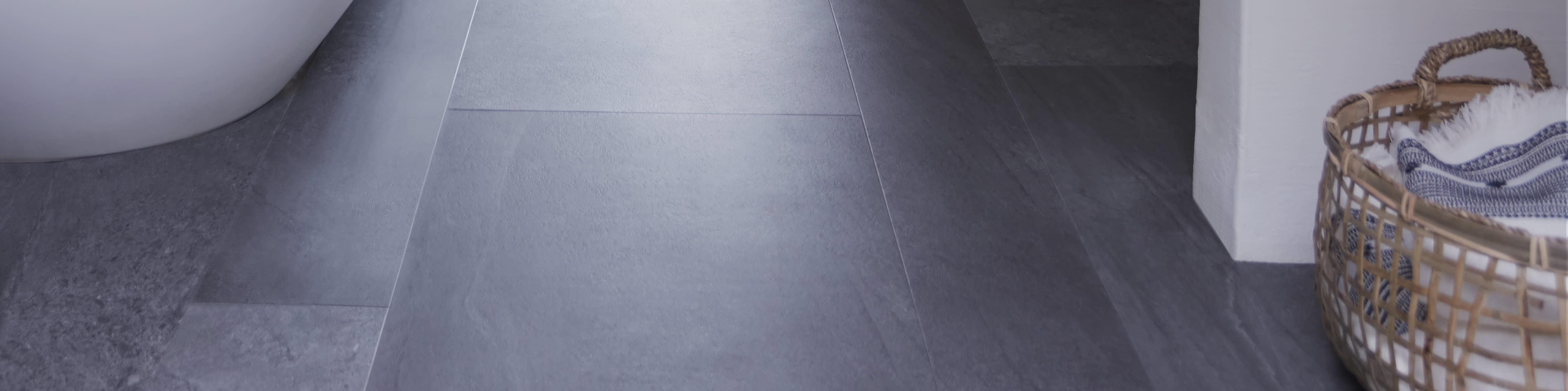 Lino effet béton, sol vinyle aspect béton