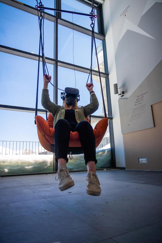 Zooom the Matterhorn - Parapente en réalité virtuelle au Gornergrat