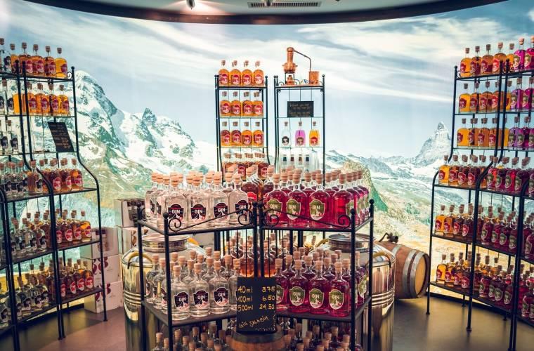 Gin Brennerei Destillerie Gornergrat