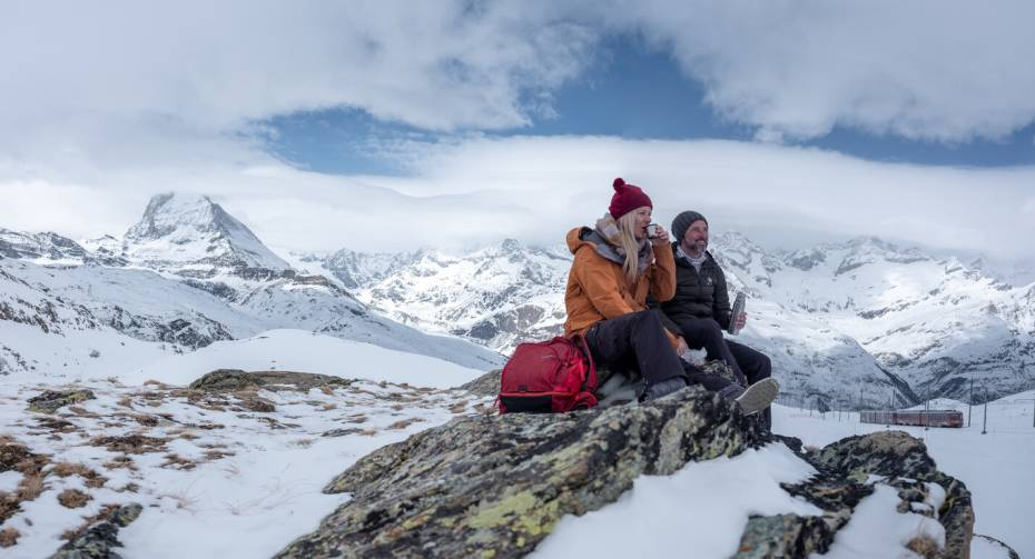 Winterwandern Gornergrat