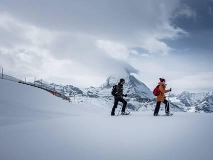 Tour en raquettes à neige Rotenboden - Riffelberg