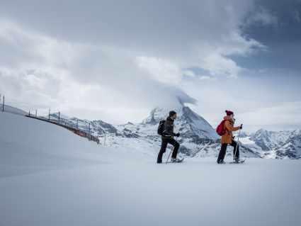 Schneeschuhtour Rotenboden - Riffelberg