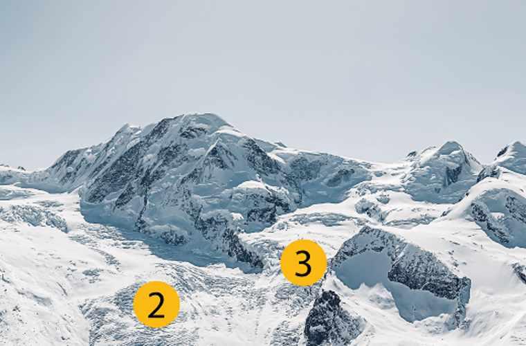 Noms des glaciers 2