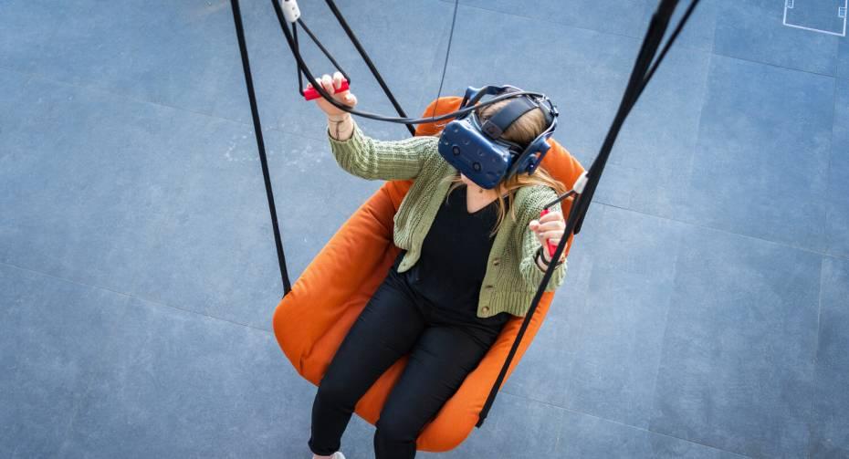 """Adventure World on the Gornergrat """"Zooom the Matterhorn"""" - VR Paragliding"""