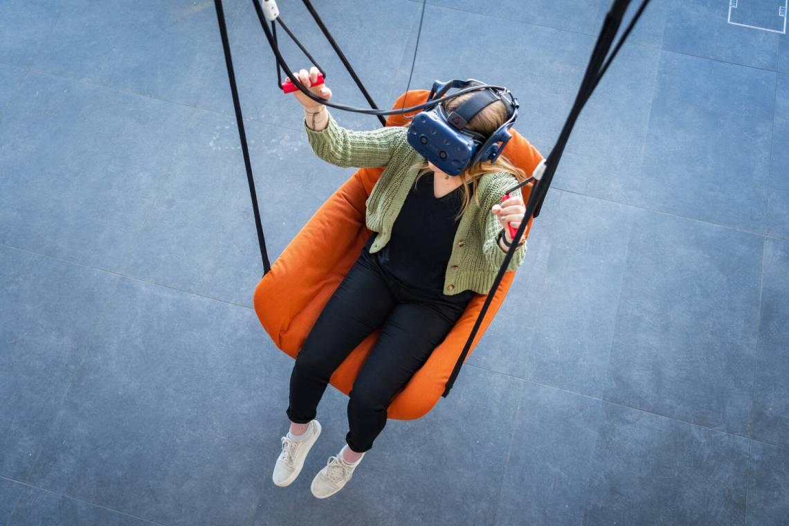 """Erlebniswelt am Gornergrat """"Zooom the Matterhorn"""" - VR Paragliding"""