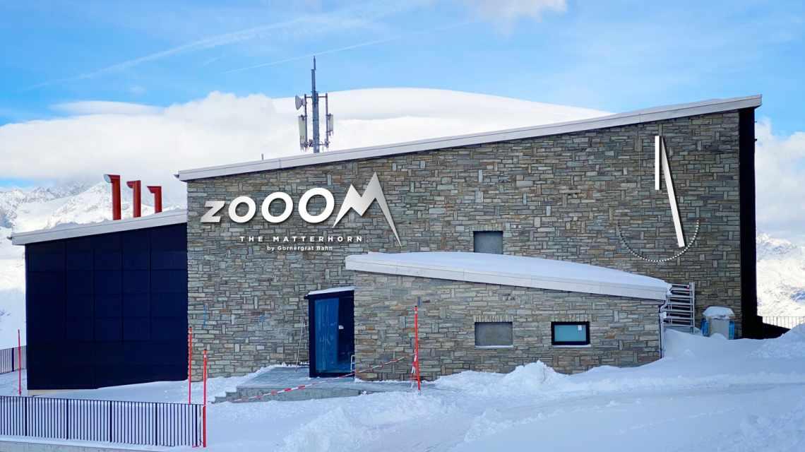 Zooom the Matterhorn - Gebäude Aussenansicht am Gornergrat
