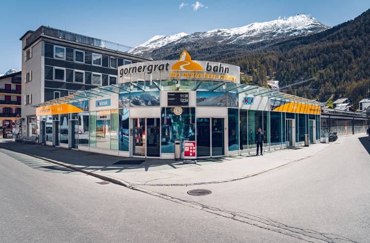 Gare Zermatt du Gornergrat Bahn