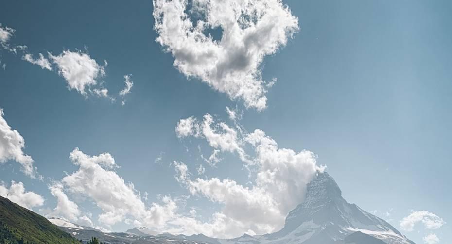 Riffelalp cheese hut at the Alphitta