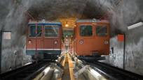Tunnel Gornergrat Bahn Zermatt
