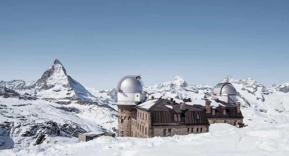Top of Gornergrat - Kulmhotel Winter