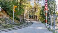 Weg von der Station Riffelalp  Richtung Riffelalp Resort im Sommer