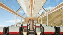 Glacier Express interior in summer