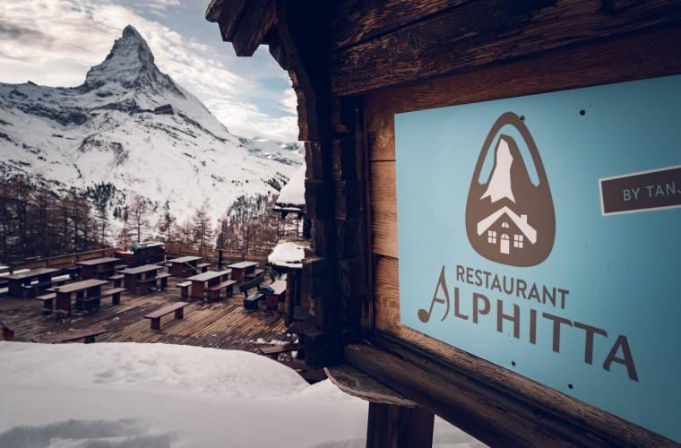 Restaurant Alphitta on the Riffelalp above Zermatt