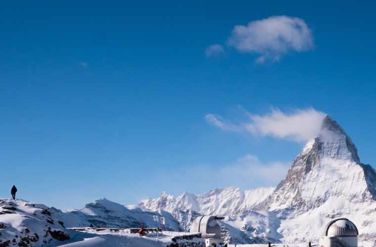View of the Matterhorn from the Gornergrat viewing platform