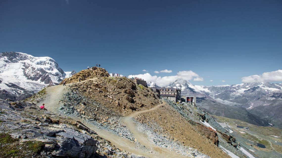 Wanderweg 360 ° Gornergrat Loop