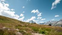 Wanderweg zur Kapelle Riffelberg oberhalb Zermatt