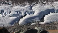 Der Gletscher von ganz nah