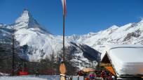 Chämi Hitta uf der Riffelalp mit Blick auf das Matterhorn
