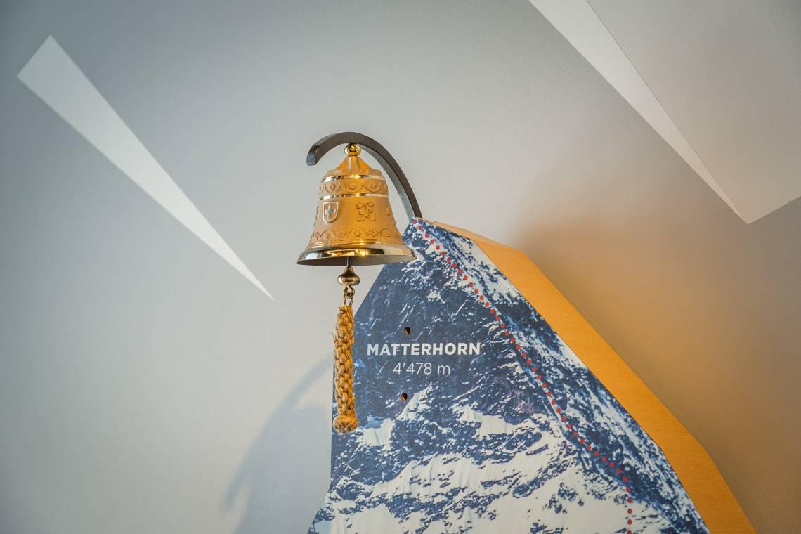 Kletterwand in der Erlebniswelt Zooom the Matterhorn
