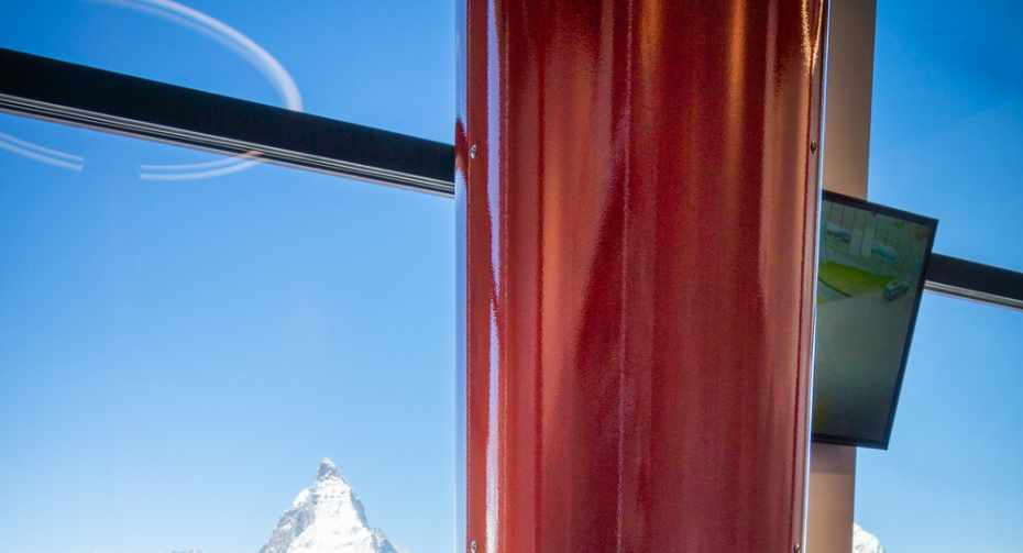 Looking at the Matterhorn with a periscope - Zooom the Matterhorn