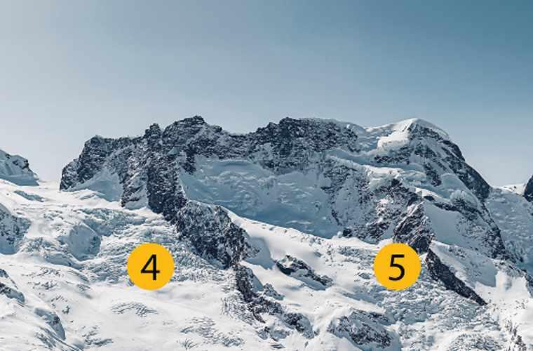 Noms des glaciers 3